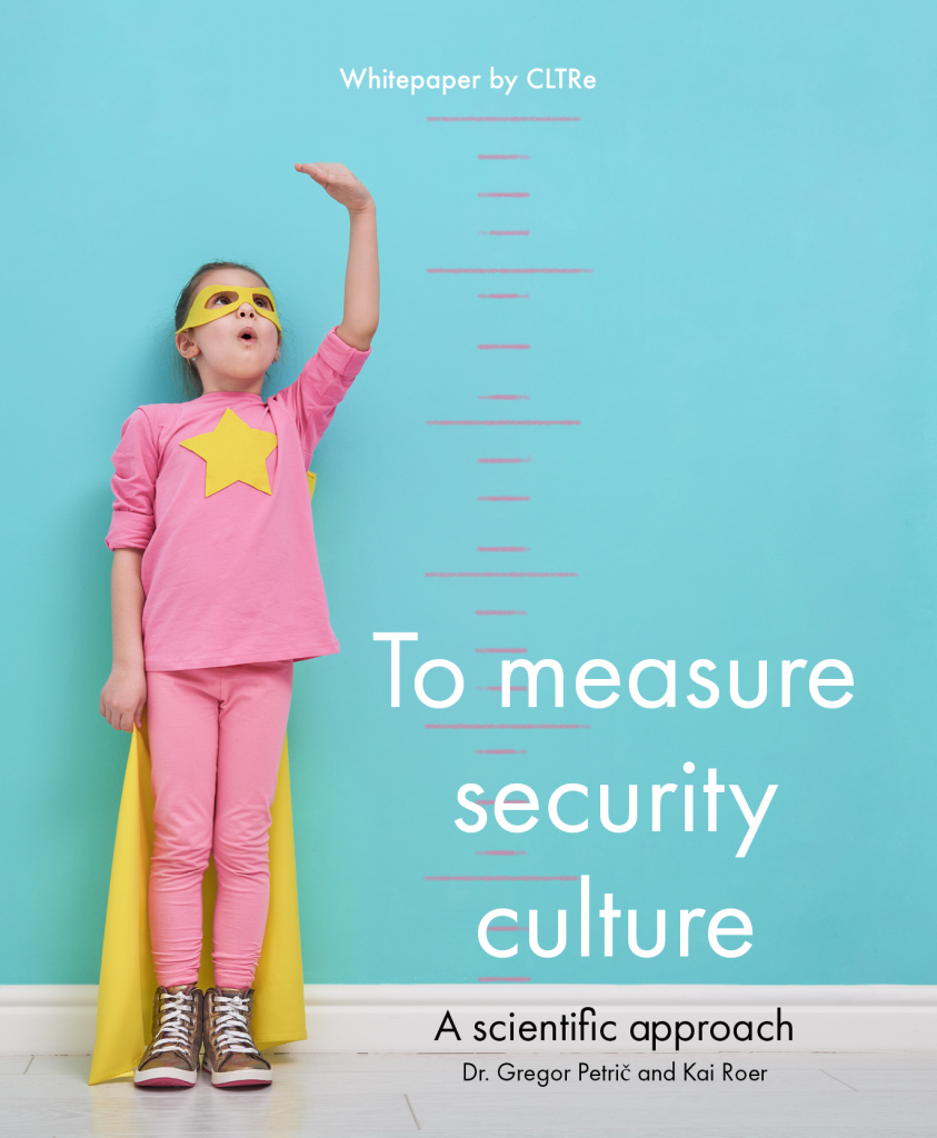 Whitepaper: To measure security culture - a scientific approach